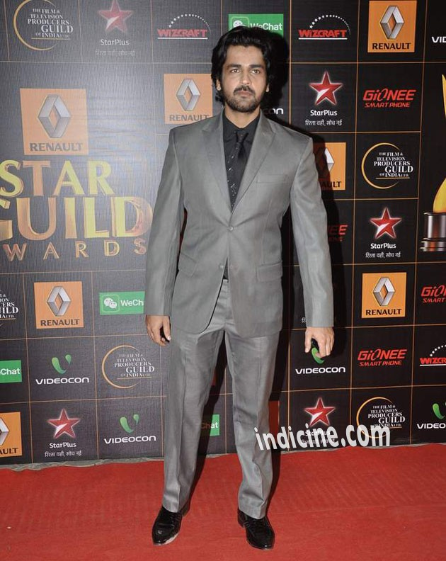 Arjan Bajwa at Star Guild Awards 2014