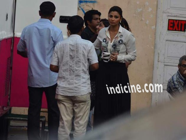Daisy Shah at Mehboob Studio