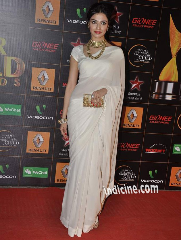 Divya Khosla at Star Guild Awards 2014