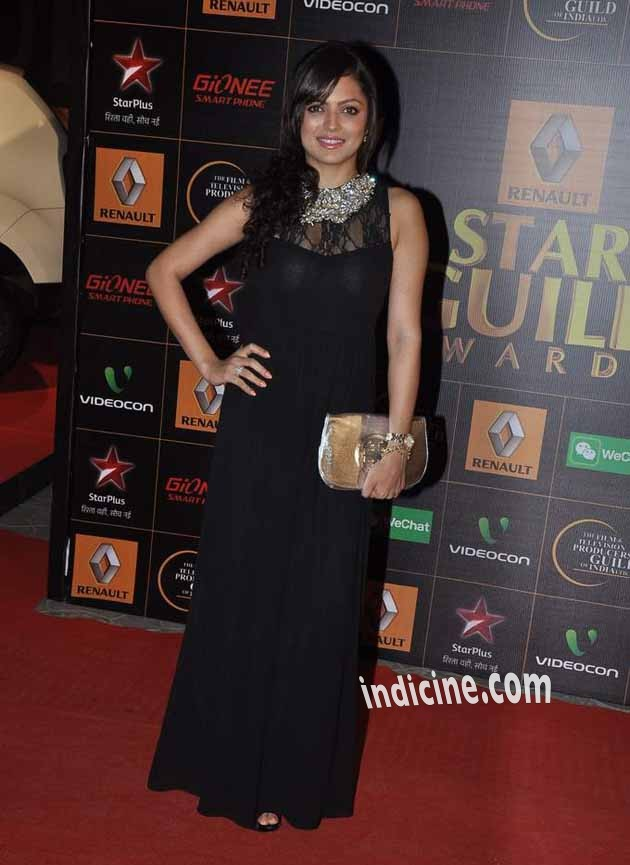 Drashti Dhami at Star Guild Awards 2014