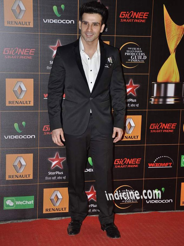 Girish Taurani at Star Guild Awards 2014