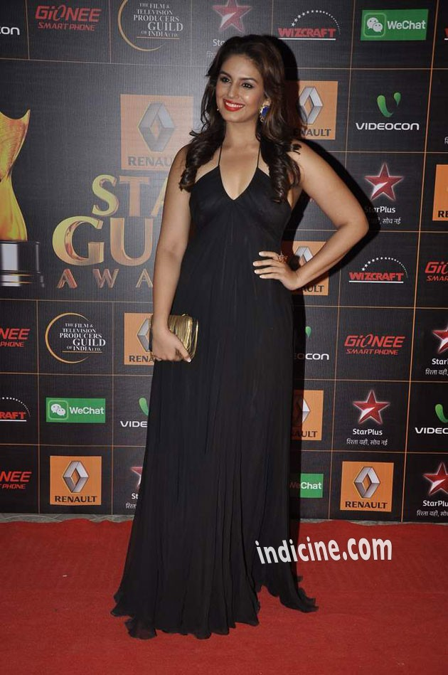 Huma Qureshi at Star Guild Awards 2014