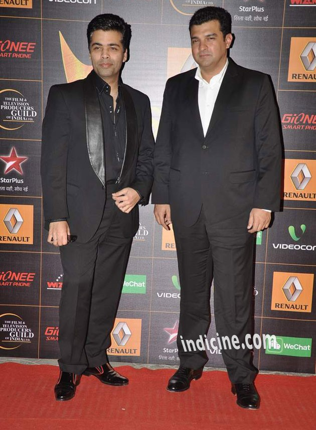 Karan Johar and Siddharth Roy Kapur