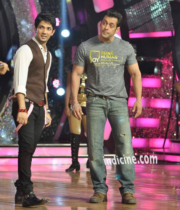 Mudassar Khana and Salman Khan