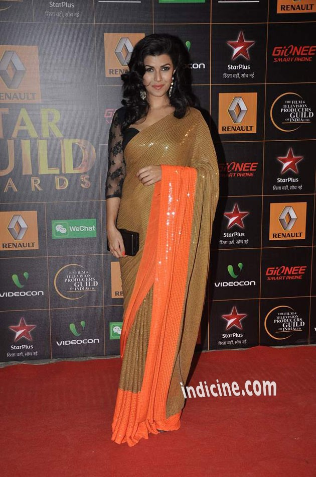 Nimrat Kaur at Star Guild Awards 2014