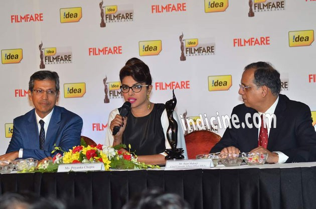 Priyanka Chopra at Filmfare's 3d Trophy launch