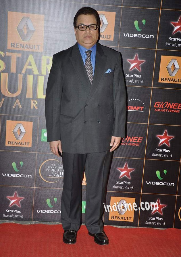 Ramesh Taurani at Star Guild Awards 2014