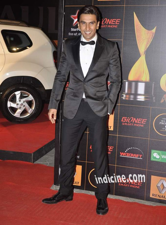 Ranveer Singh at Star Guild Awards 2014