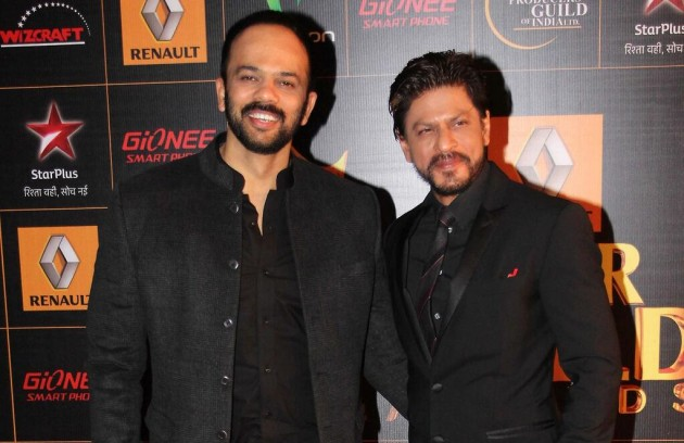 SRK with Rohit Shetty