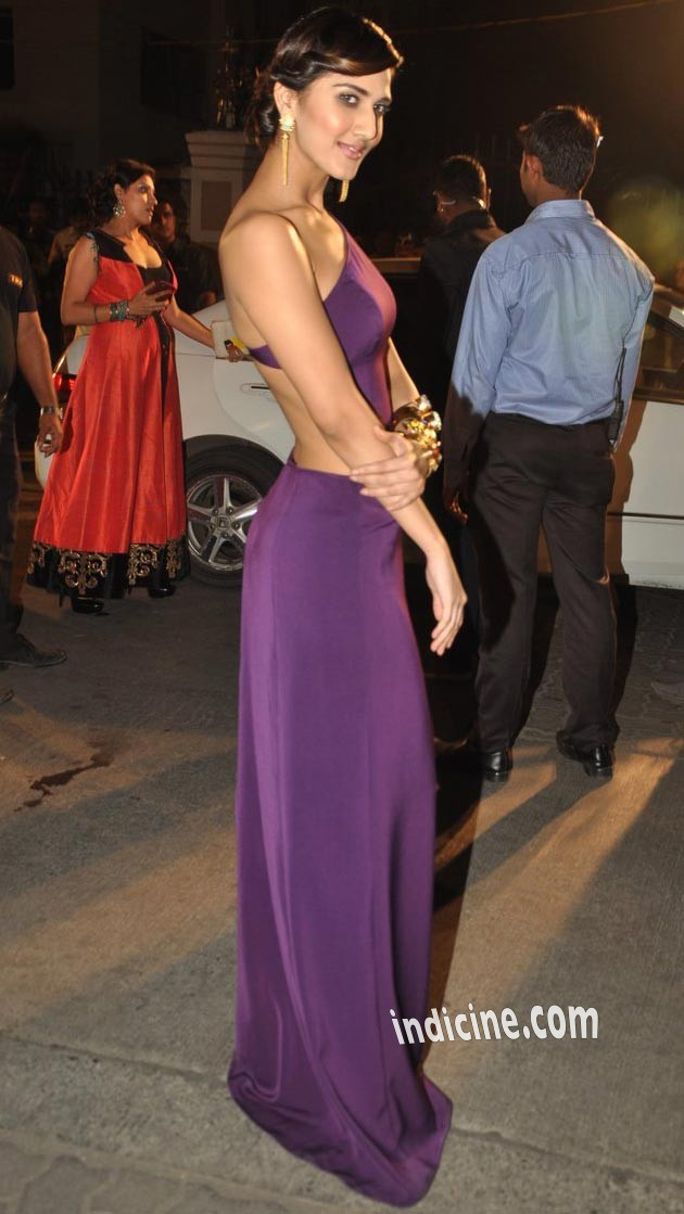 Vani Kapoor at Filmfare Awards 2014