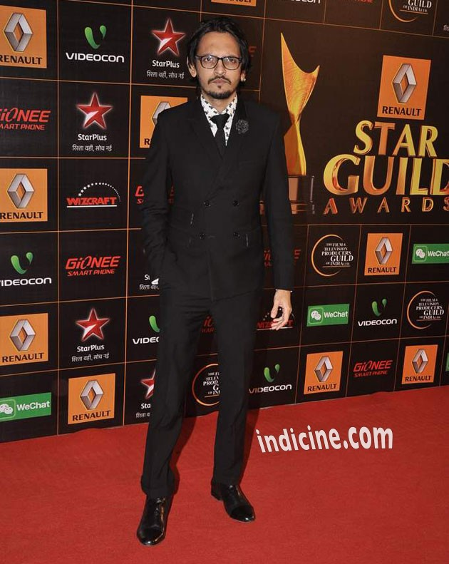 Vishesh Bhatt at Star Guild Awards 2014