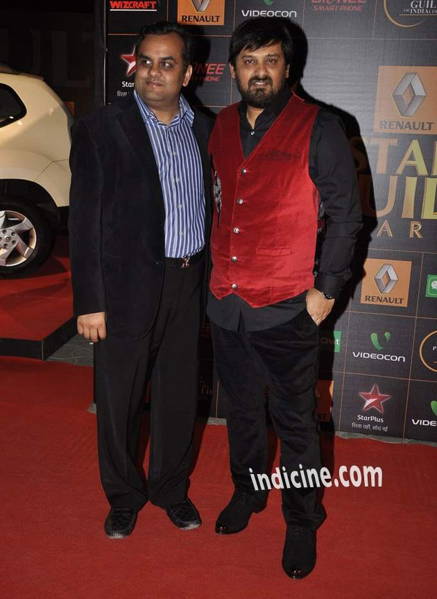 Wajid Ali at Star Guild Awards 2014