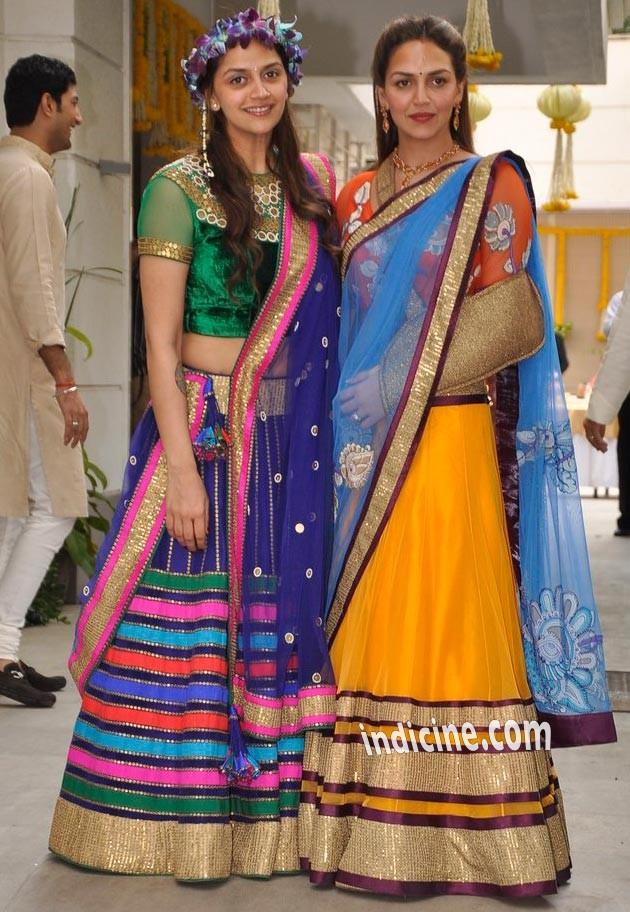 Ahana Deol with sister Esha Deol