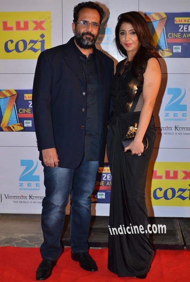 Anand L Rai with Krishika Lulla