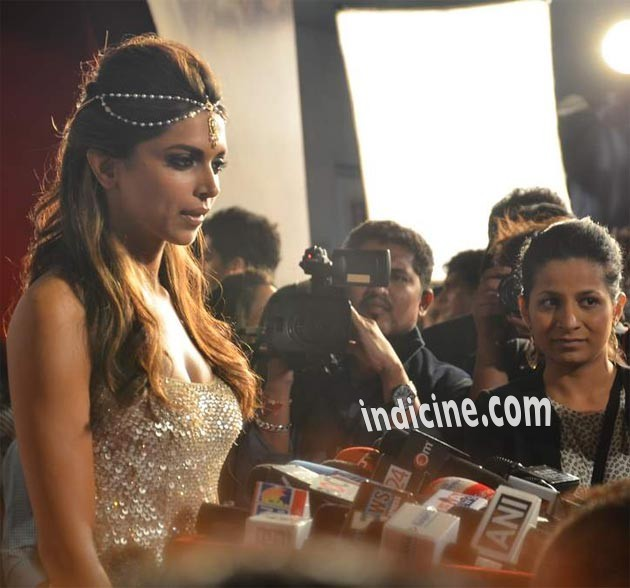 Deepika Padukone at Zee Cine Awards press meet