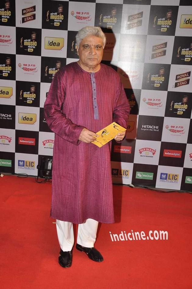 Javed Akhtar at Mirchi Music Awards