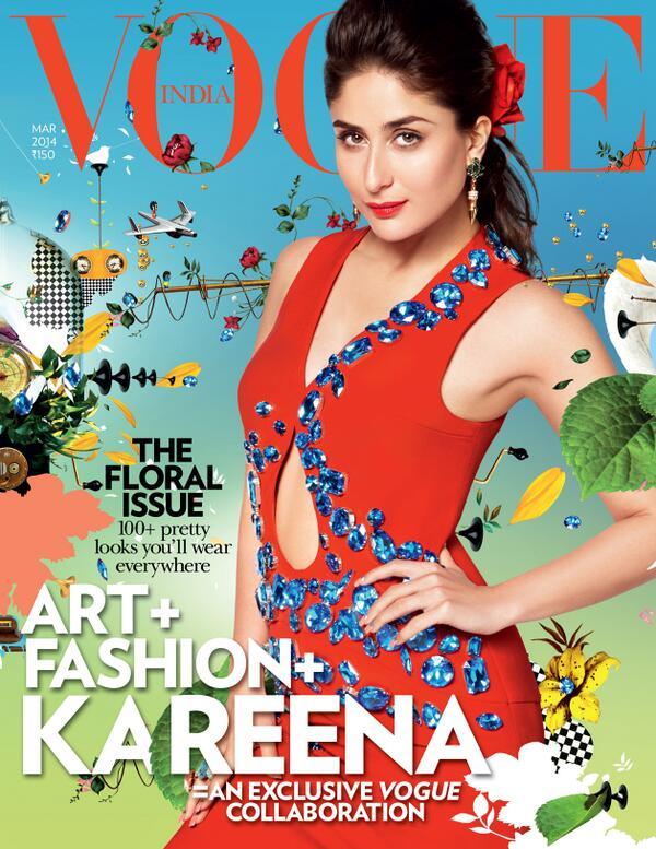 Kareena Kapoor Khan Vogue Magazine Cover
