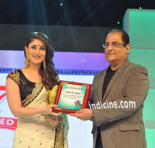 Kareena Kapoor at Asia Vision Awards in Dubai
