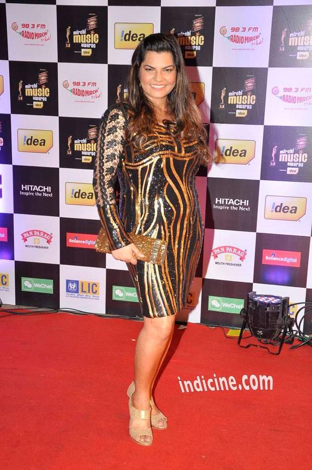 Mamta Sharma at Mirchi Music Awards