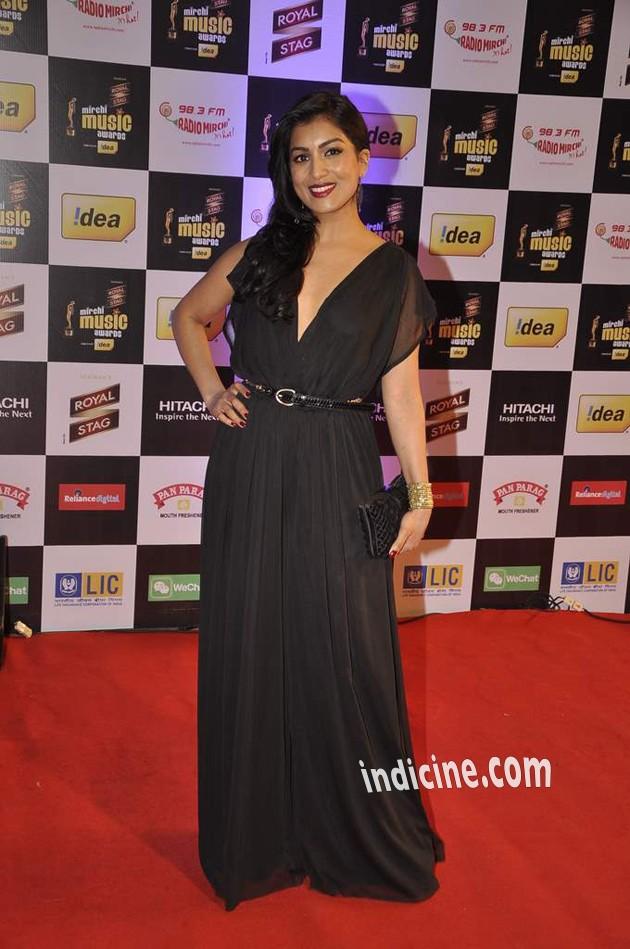 Pallavi Sharda at Mirchi Music Awards