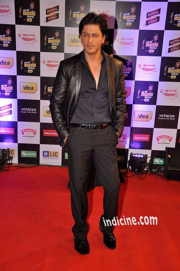 SRK at Mirchi Music Awards