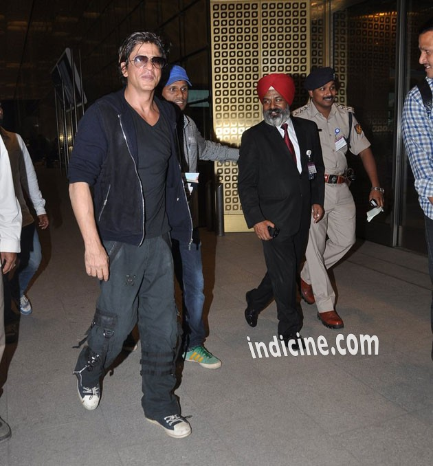 SRK leaves for Malaysia