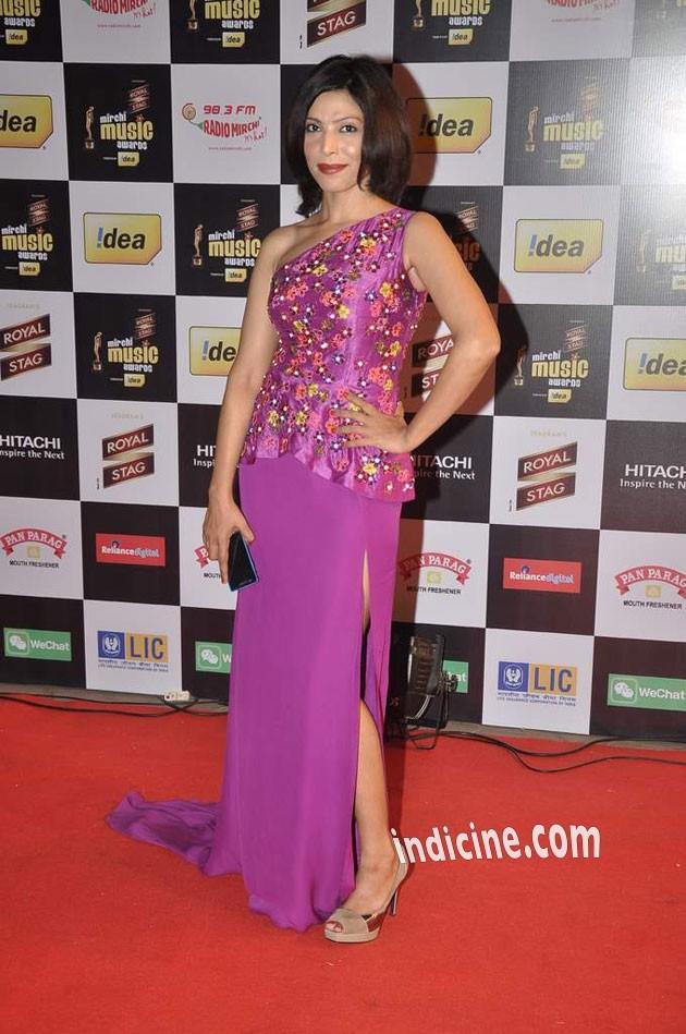 Shilpa Shukla at Mirchi Music Awards