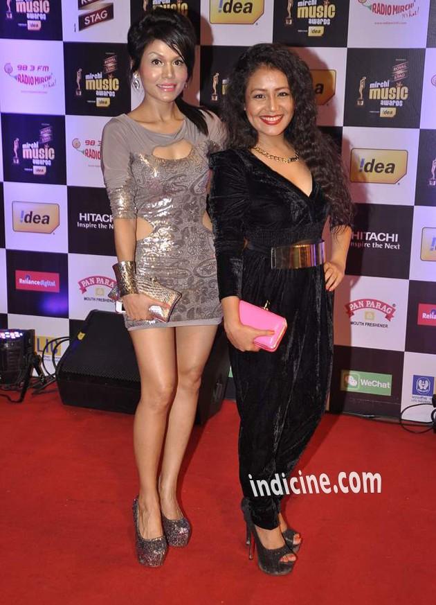 Sonu Kakkar and Neha Kakkar