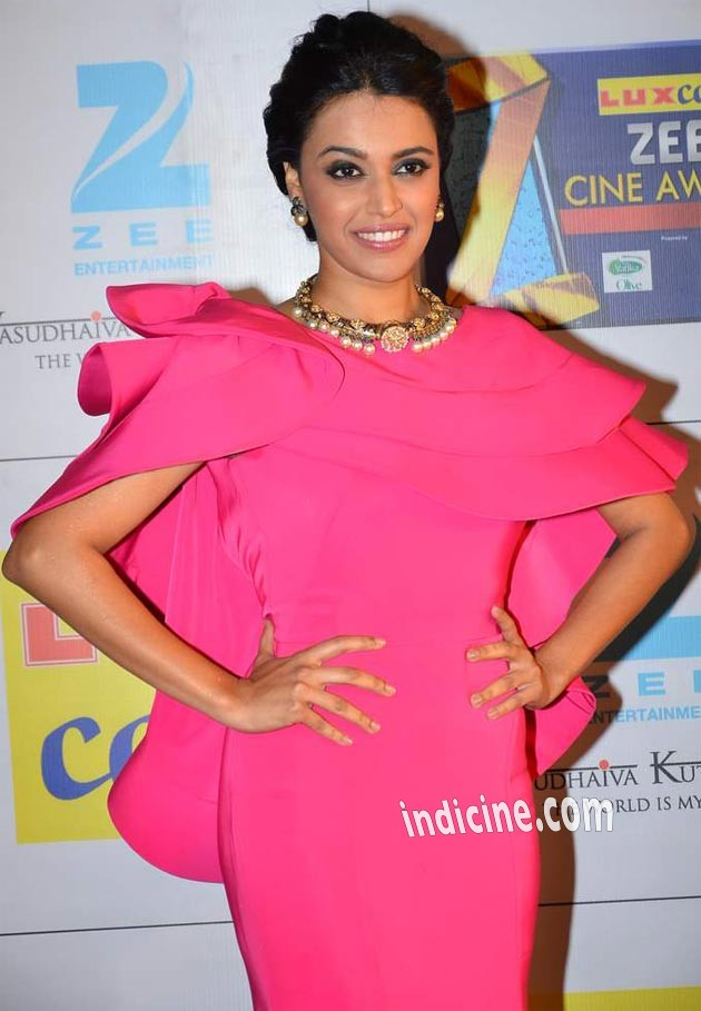 Swara Bhaskar at Zee Cine Awards red carpet