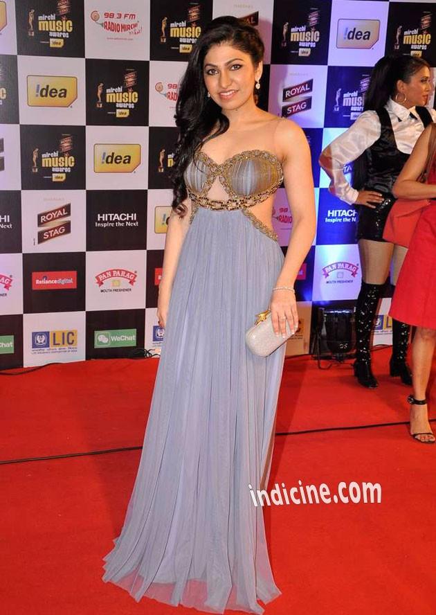 Tulsi Kumar at Mirchi Music Awards