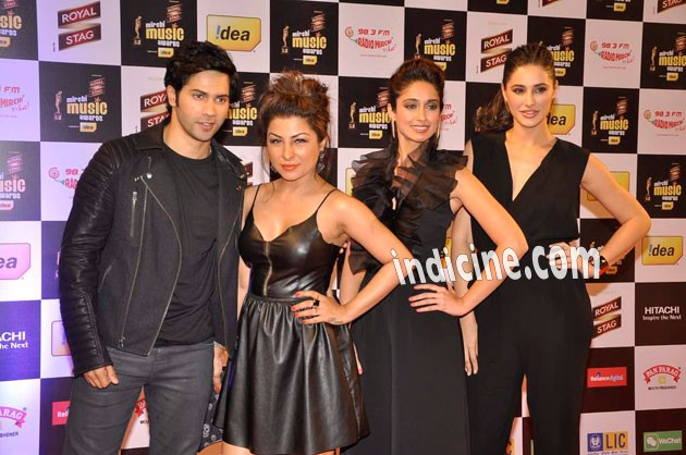 Varun Dhawan, Hard Kaur, Ileana D'Cruz and Nargis Fakhri