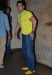 Salman Khan at Yellow screening