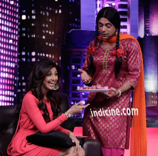 Shilpa Shetty and Harman Baweja on 'Mad in India': Photos