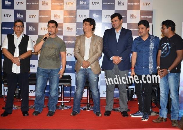 Aamir Khan at Heropanti press meet
