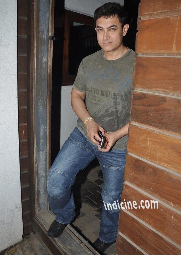 Aamir Khan at Imran Khan and Avantika's baby shower