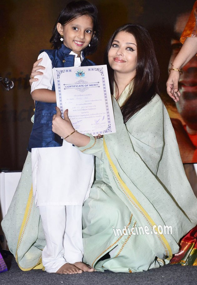 Aishwarya Rai with a kid