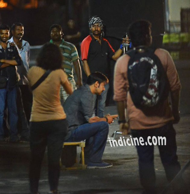 Ajay Devgn's late night shoot for Singham 2: Photos