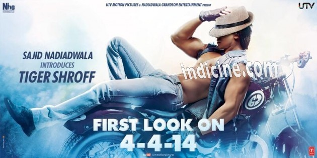 Heropanti First Look - Tiger Shroff