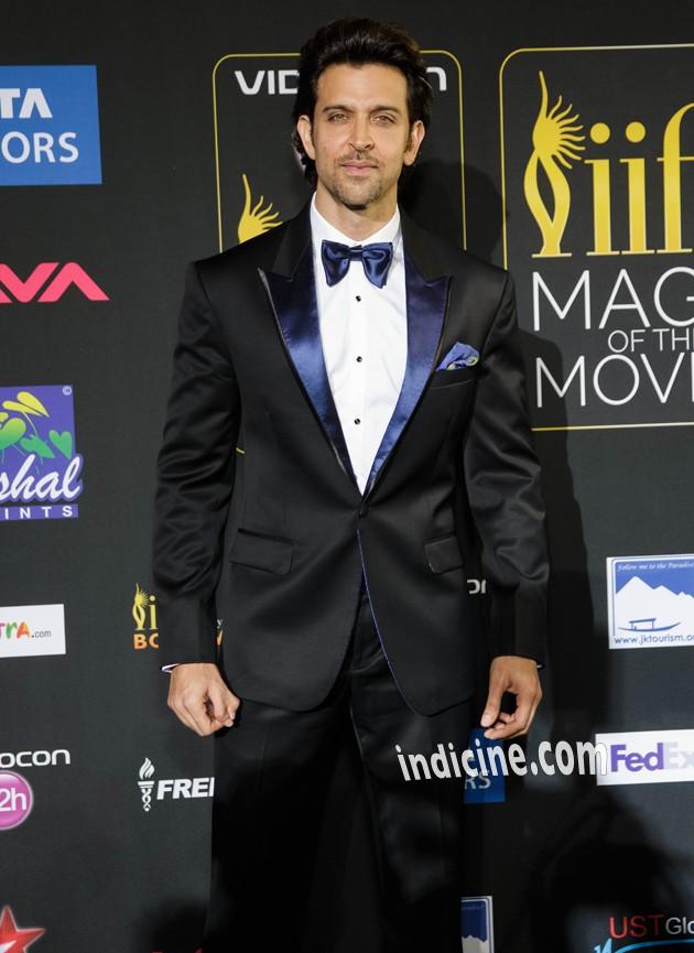 Hrithik Roshan at IIFA Awards Green Carpet