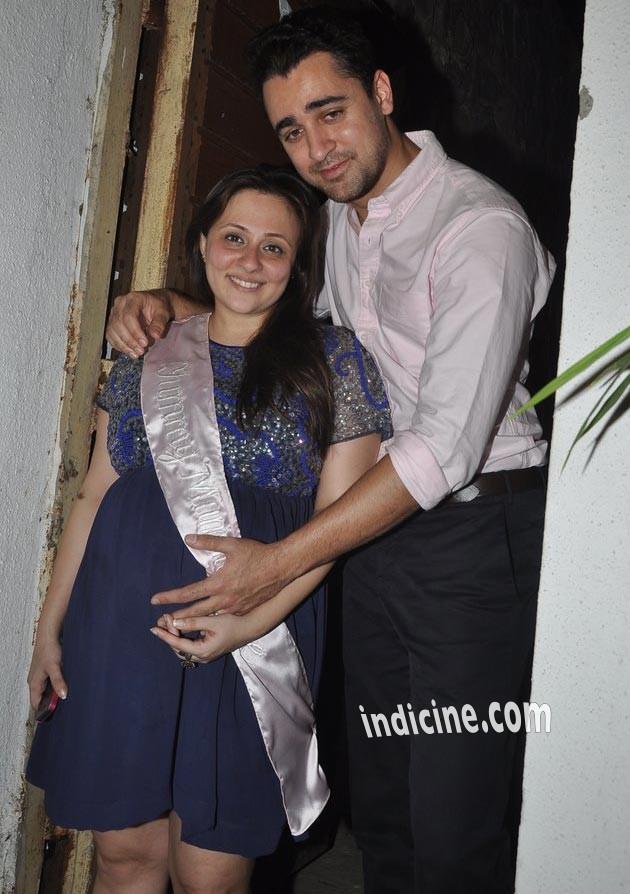 Imran Khan and Avantika's baby shower