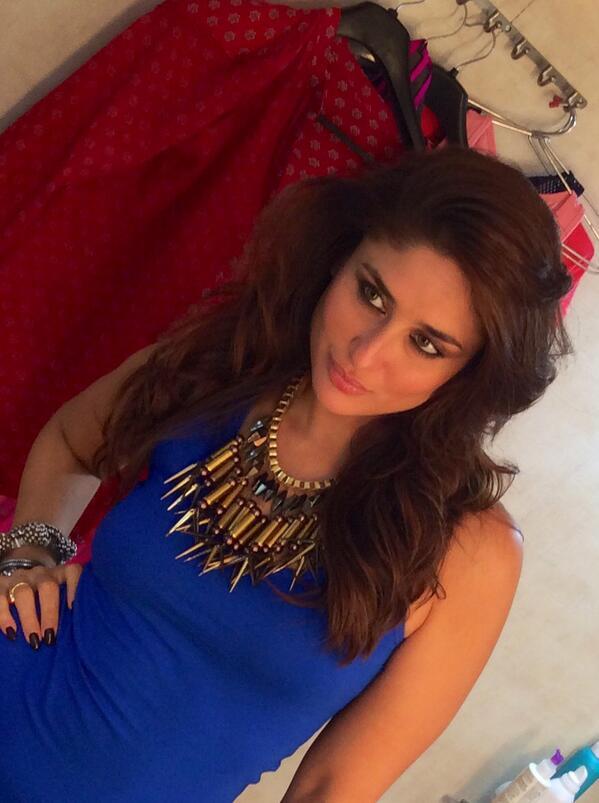 Kareena Kapoor shoots for an item song in Gabbar