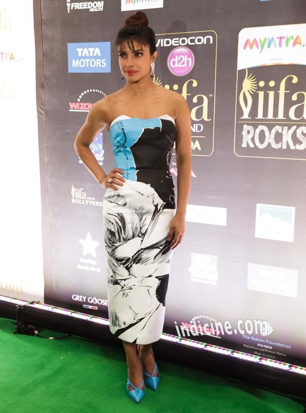 Priyanka Chopra at IIFA Awards Green Carpet