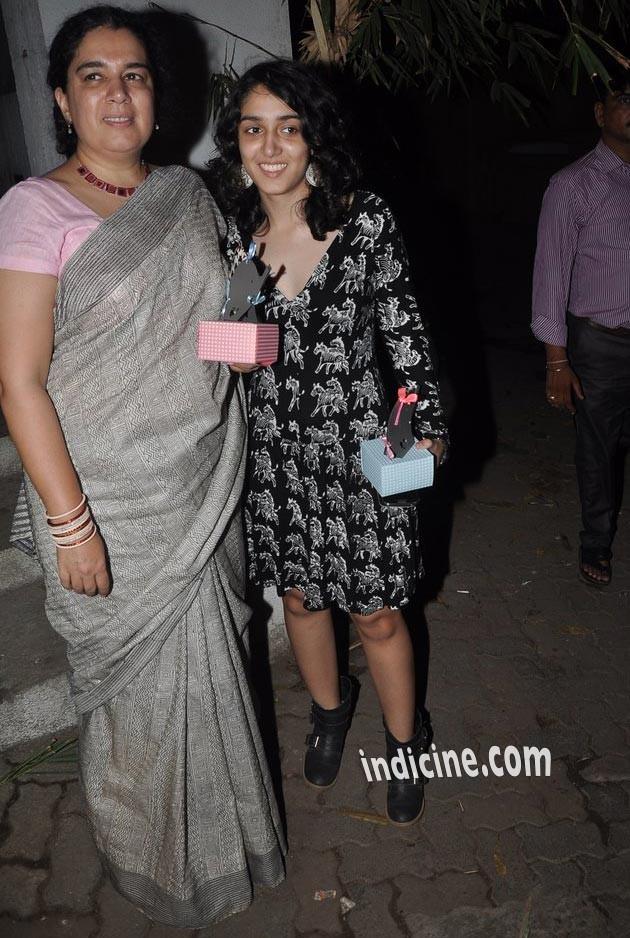 Reena Dutta with daughter Ira Khan