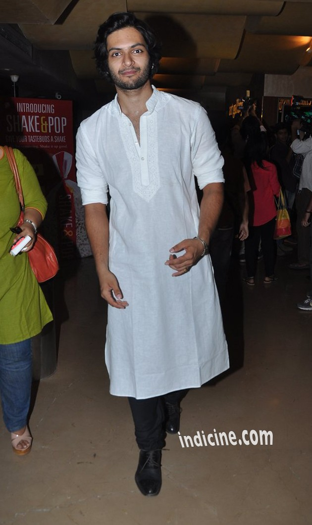 Ali Fazal at the first look launch of Bobby Jasoos