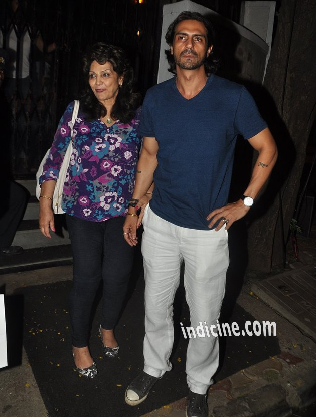 Arjun Rampal spotted at Hakkasan Restaurant