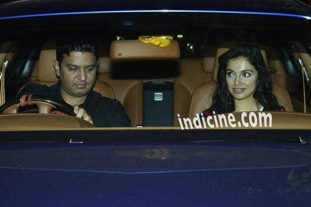 Bhushan Kumar with wife Divya Khosla