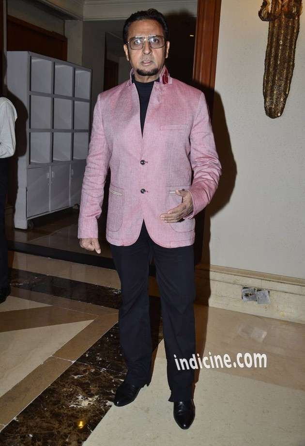Gulshan Grover at first look launch of the film Leader