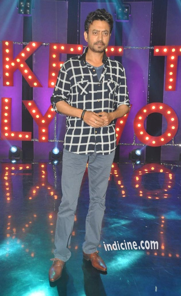 Irrfan Khan at NDTV's show Ticket To Bollywood