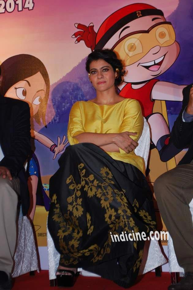 Kajol at Mighty Raju Mother's day event