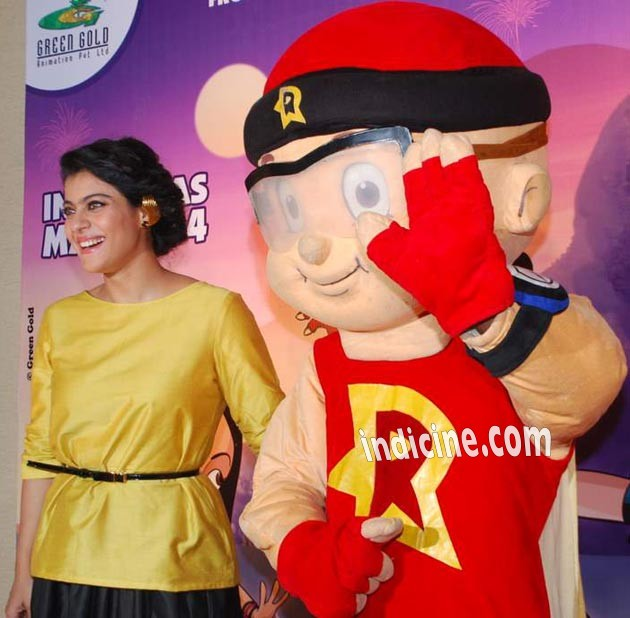 Kajol honoured with the Mighty Mother award